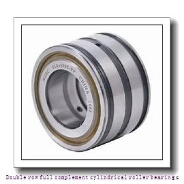 NNCL4980V Double row full complement cylindrical roller bearings