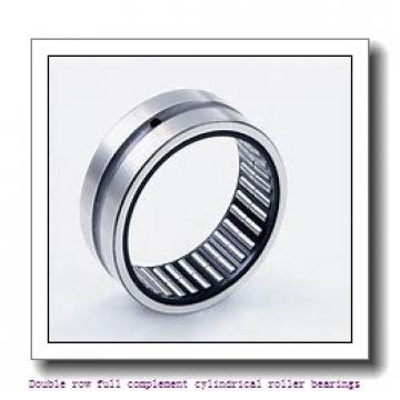 NNCF4872V Double row full complement cylindrical roller bearings